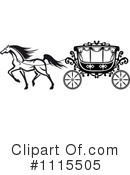 Royalty-Free (RF) Carriage Clipart Illustration #1115505