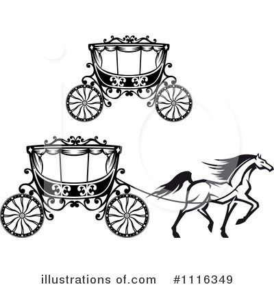 Carriage Clipart #1116349 by Vector Tradition SM