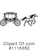 Royalty-Free (RF) Carriage Clipart Illustration #1116362