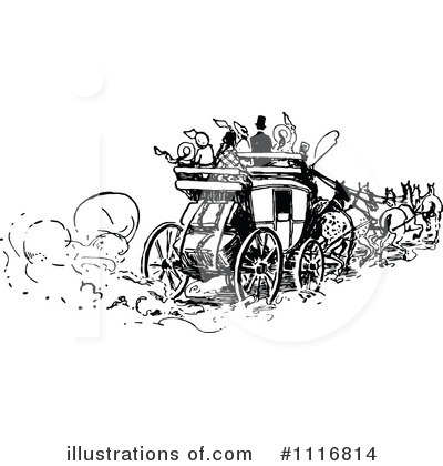 Carriage Clipart #1116814 by Prawny Vintage