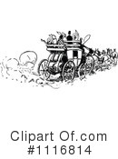 Royalty-Free (RF) Carriage Clipart Illustration #1116814