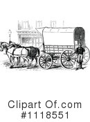 Royalty-Free (RF) Carriage Clipart Illustration #1118551