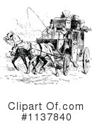 Royalty-Free (RF) Carriage Clipart Illustration #1137840