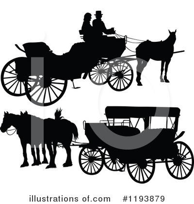 Royalty-Free (RF) Carriage Clipart Illustration by dero - Stock Sample #1193879