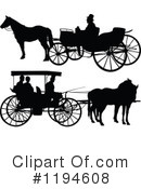 Royalty-Free (RF) Carriage Clipart Illustration #1194608