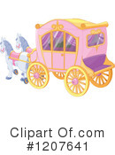 Royalty-Free (RF) Carriage Clipart Illustration #1207641