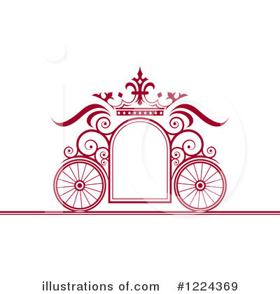 Carriage Clipart #1224369 by Lal Perera
