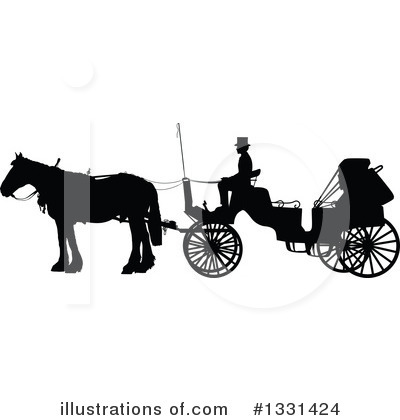 Carriage Clipart #1331424 by Maria Bell