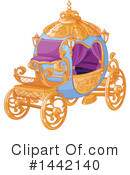 Royalty-Free (RF) Carriage Clipart Illustration #1442140