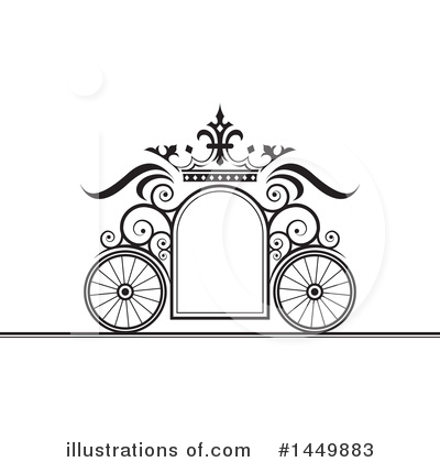 Royalty-Free (RF) Carriage Clipart Illustration by Lal Perera - Stock Sample #1449883