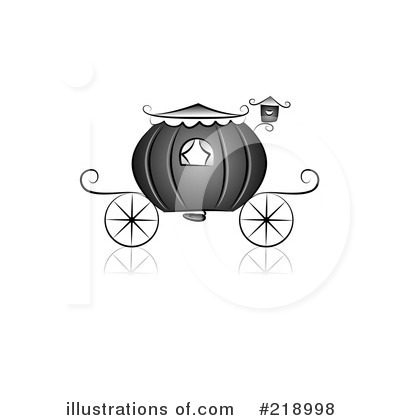 Royalty-Free (RF) Carriage Clipart Illustration by BNP Design Studio - Stock Sample #218998