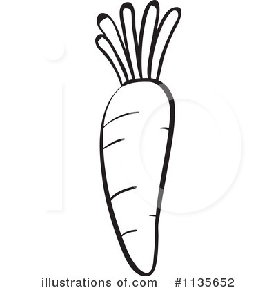 Carrot Clipart #1135652 - Illustration by Graphics RF