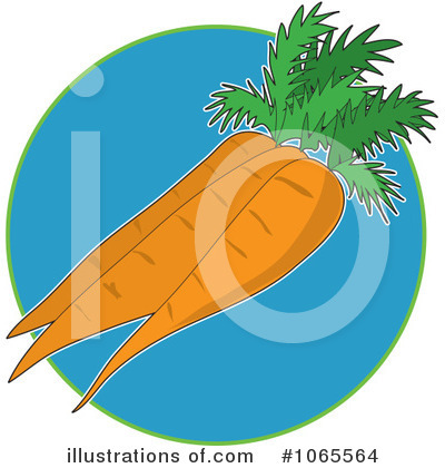 Vegetable Clipart #1065564 by Maria Bell