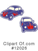 Cars Clipart #12026 by AtStockIllustration