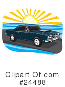 Royalty-Free (RF) Cars Clipart Illustration #24488
