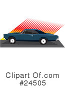 Royalty-Free (RF) cars Clipart Illustration #24505
