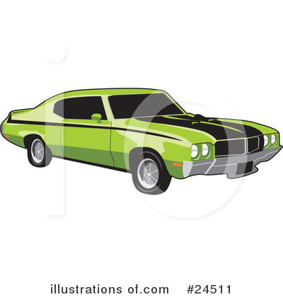Car Clipart #24511 by David Rey