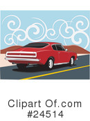 Royalty-Free (RF) Cars Clipart Illustration #24514