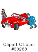 Royalty-Free (RF) Cars Clipart Illustration #30288
