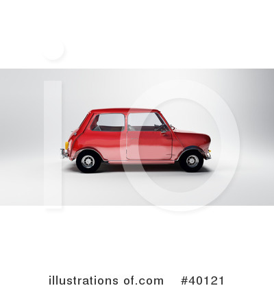 Car Clipart #40121 by Frank Boston