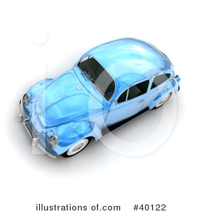 Car Clipart #40122 by Frank Boston