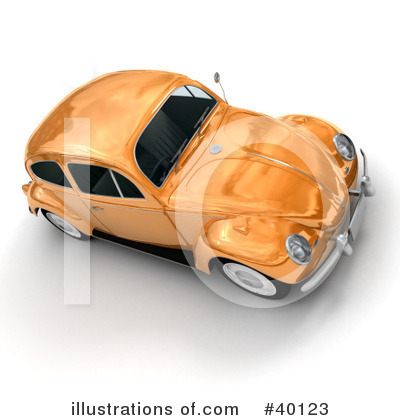 Car Clipart #40123 by Frank Boston