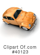 Cars Clipart #40123 by Frank Boston
