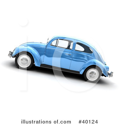 Car Clipart #40124 by Frank Boston