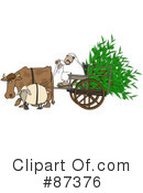 Royalty-Free (RF) Cart Clipart Illustration #87376