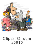 Cartoon Clipart #5910 by djart