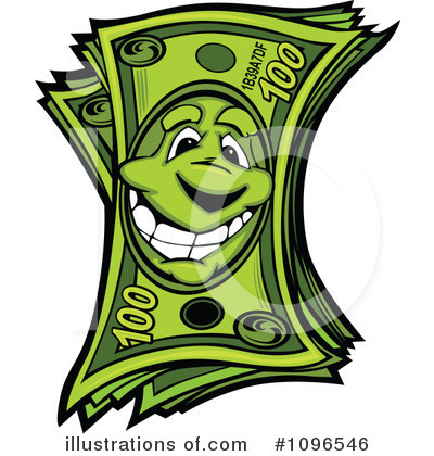Money Clipart #1096546 by Chromaco