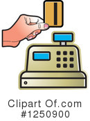 Cash Register Clipart #1250900 by Lal Perera