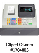 Cash Register Clipart #1704803 by Vector Tradition SM