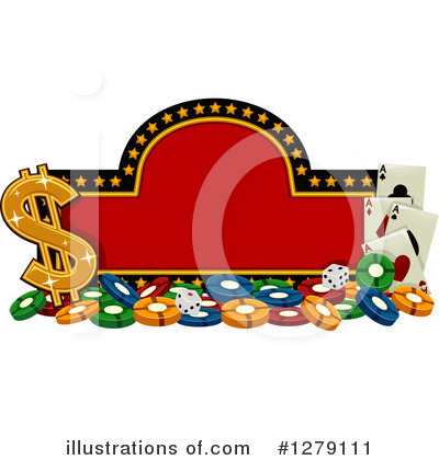 Playing Cards Clipart #1279111 by BNP Design Studio