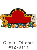 Casino Clipart #1279111 by BNP Design Studio