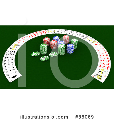 Playing Cards Clipart #88069 by KJ Pargeter