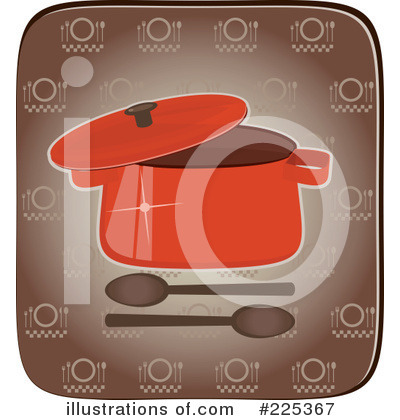 Casserole Clipart #225367 by Melisende Vector