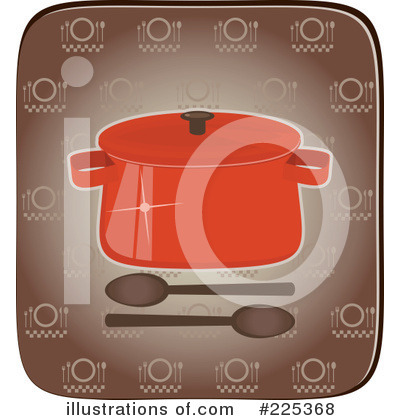 Casserole Clipart #225368 by Melisende Vector