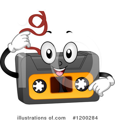 Cassette Tape Clipart #1200284 by BNP Design Studio