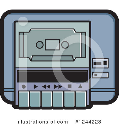 Cassette Tape Clipart #1244223 by Lal Perera