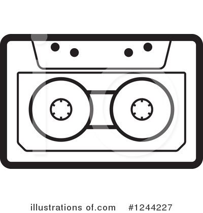 Cassette Tape Clipart #1244227 by Lal Perera