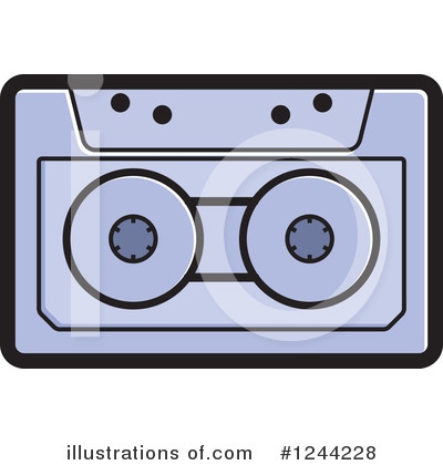 Cassette Tape Clipart #1244228 by Lal Perera