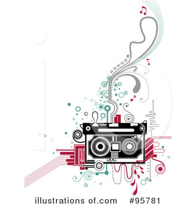 Cassette Tape Clipart #95781 by BNP Design Studio