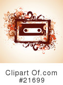 Cassette Tape Clipart #21699 by OnFocusMedia
