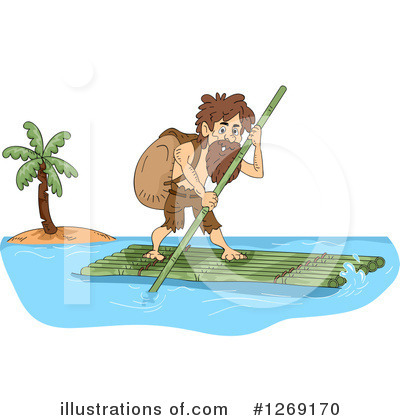 Castaway Clipart #1269170 by BNP Design Studio