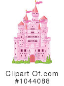 Royalty-Free (RF) castle Clipart Illustration #1044088