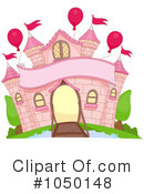 Royalty-Free (RF) castle Clipart Illustration #1050148