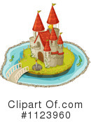 Royalty-Free (RF) castle Clipart Illustration #1123960