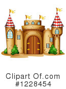 Royalty-Free (RF) Castle Clipart Illustration #1228454