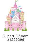 Royalty-Free (RF) castle Clipart Illustration #1229299